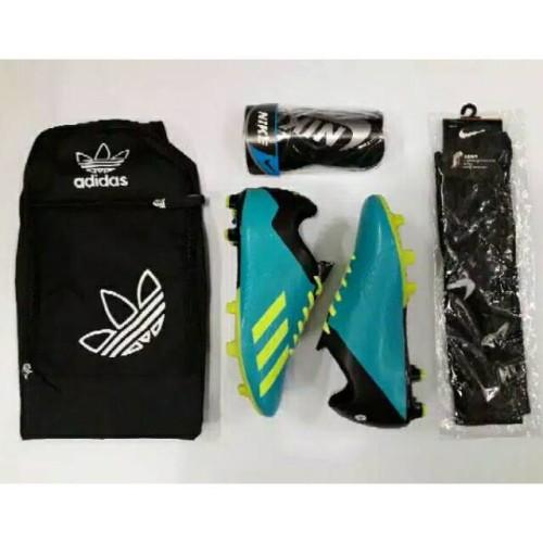 Sepatu Bola Adidas Sport Premium Grade Original | set komplit tas