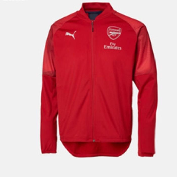 Jaket Bola Arsenal Original Puma Limited Edition