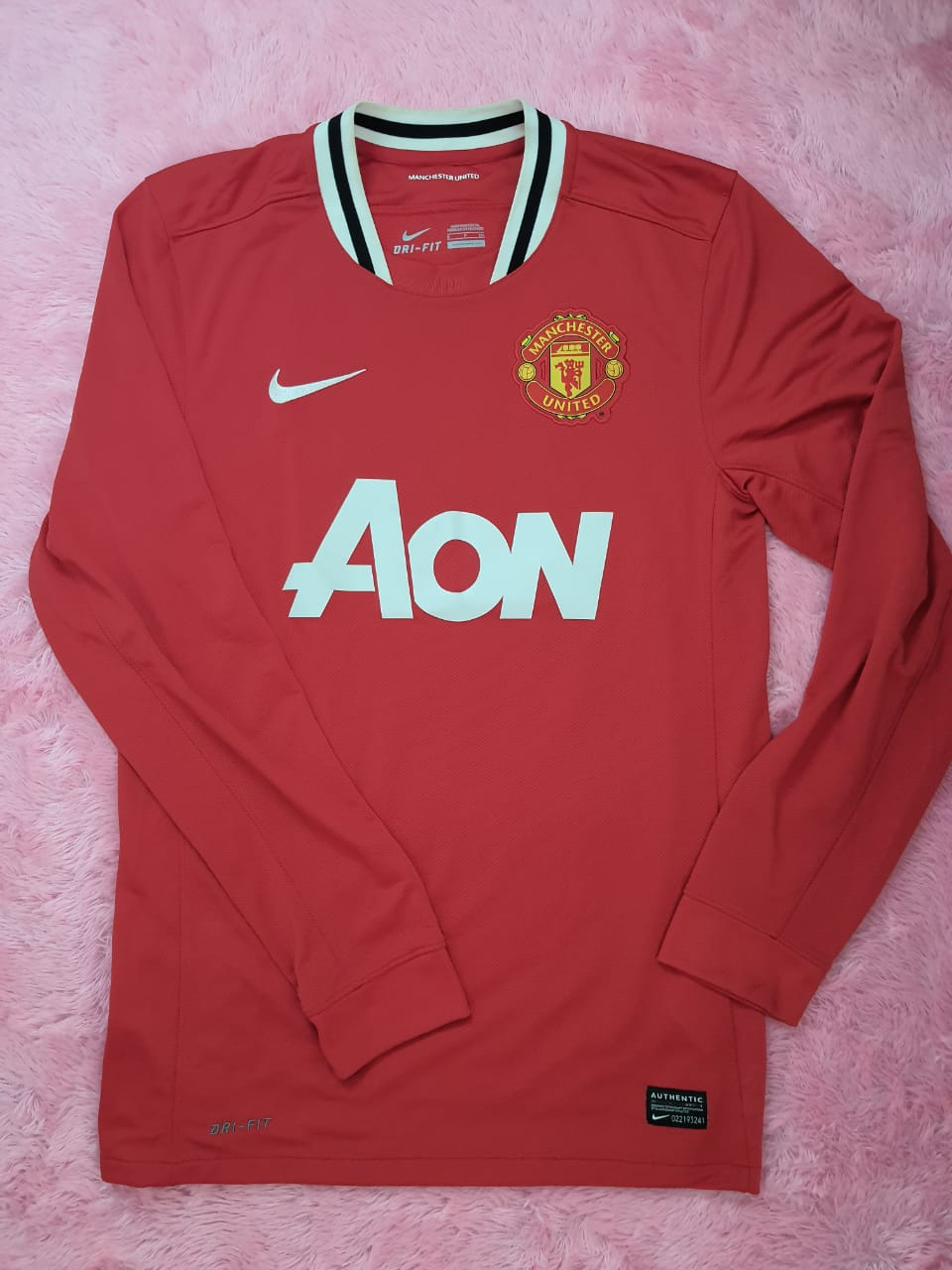 Jersey Home Manchester United 2011/12 (Original Long Sleeve)