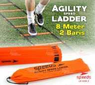 Agility Speed Ladder Drills training Tangga Kelincahan 8m 039-03
