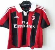 Jersey Original Rossoneri Milan Home 12-13 Adidas